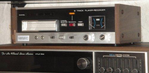 HARVARD 8-sávos Cartridge-rendszerű magnódeck