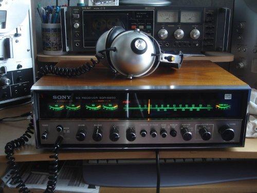 Sony SQR-6650 kvadrofón rádió-erősítő