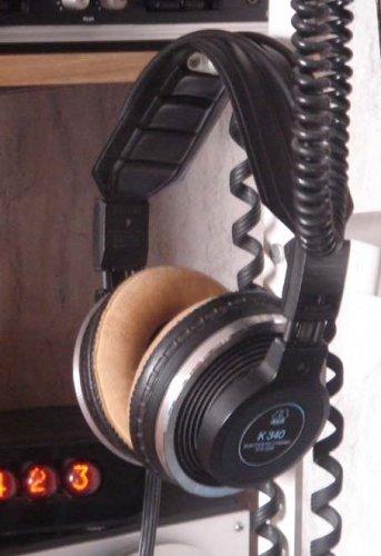 AKG K340 elektosztatikus /dinamikus fejhallgató