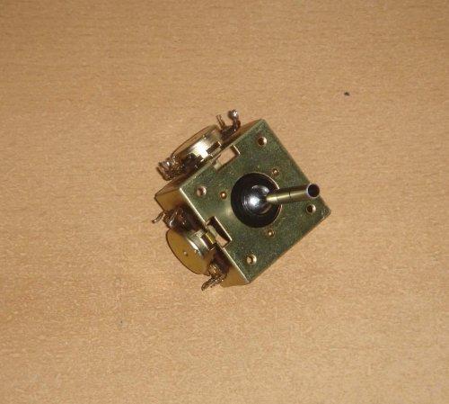Kvadrofónikus térbalansz-szabályzó (joystick)