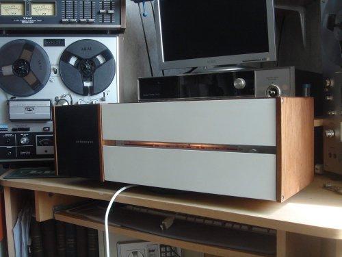 Nordmende Spectra Futura asztali rádió-különlegesség