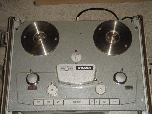 Studer A62 sztereó stúdiómagnó