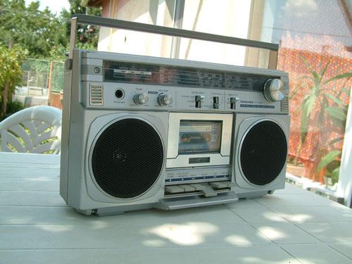 Toshiba rádiósmagnó RT-1005