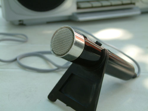 Elektroakusztikai mikrofon MD 102-500