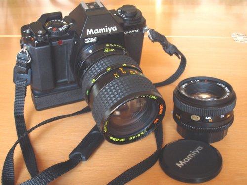Mamiya fényképezőgép - ZM
