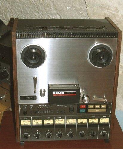 TEAC 80-8  nyolcsávos stúdió-magnetofon