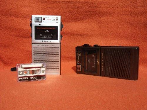 Sanyo diktafon TRC-3550 és TRC-3550A