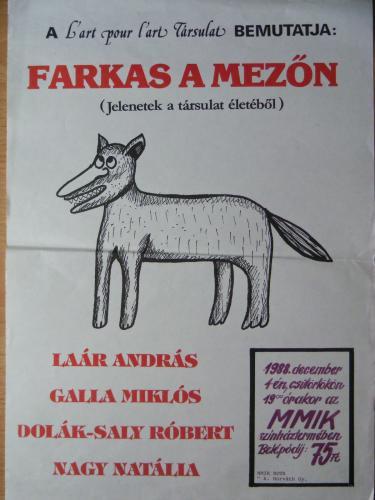 Lart pour Lart plakát
