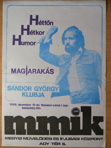 Sándor György plakát