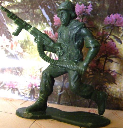 Műanyag katona