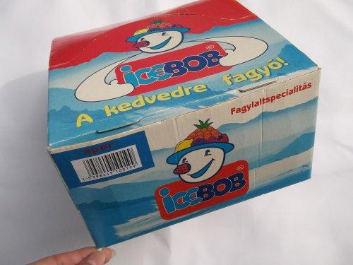 Icebob jégkrém doboza
