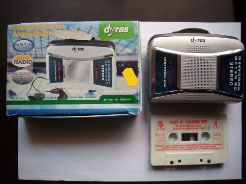 Dyras rádiós walkman