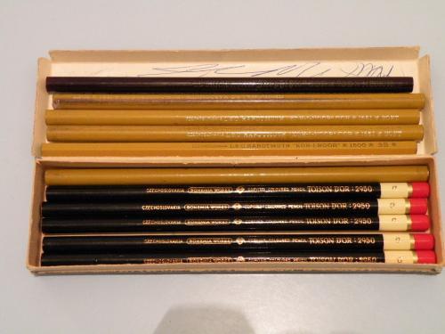 Toison Dor és Koh-i-noor ceruzák