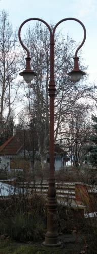 Utcai lámpa    Szárszó Vasutállomás