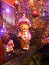 retro karácsonyfadísz