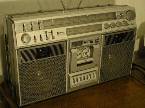 AIWA TPR 990  Ghettoblaster -Boombox