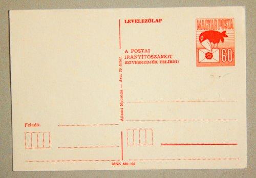 Postai Levelezőlap