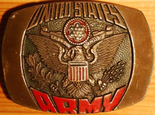US-Army övcsat