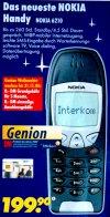 Nokia 6210 mobiltelefon
