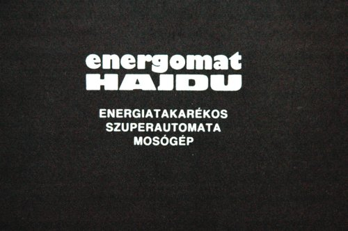 Hajdú Energomat jótállási jegy