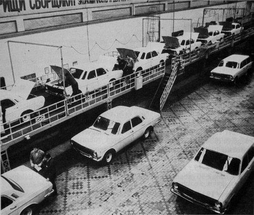 Volga a gyártósoron