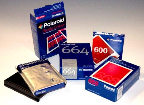 Polaroid nyersanyagok