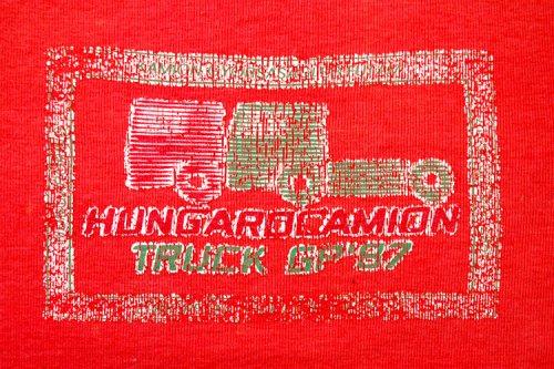 Kamion gyorsasági futam (matrica)