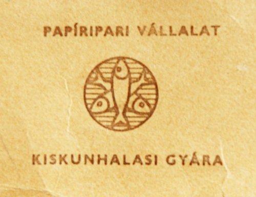 Kiskunhalasi Papíripari Vállalat embléma