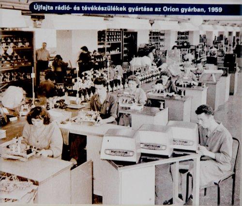 Orion televízió gyár