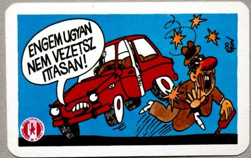 Közlekedj Okosan (kártyanaptár 1982)