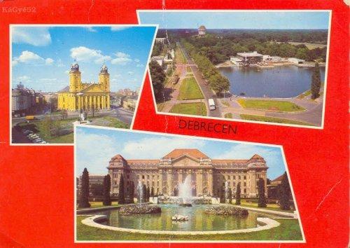 Debrecen képeslap