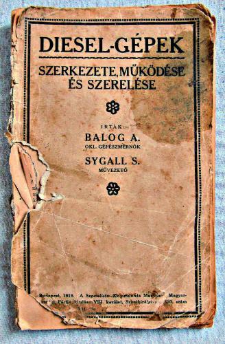 Írták: Balog A. okl.gépészmérnök, Sygall S. művezető