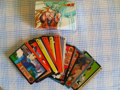 Dragon Ball kártyák, tokkal