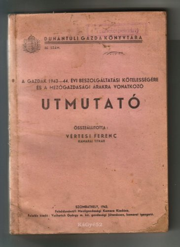 Dunántúli gazda könyvtára