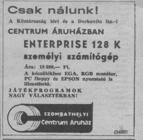 Enterprise reklám