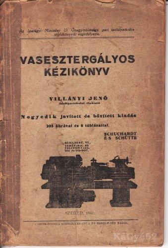 Vasesztergályos kézikönyv