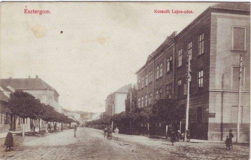 Esztergom képeslap