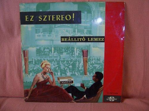 Ez Sztereo - Beállitó lemez