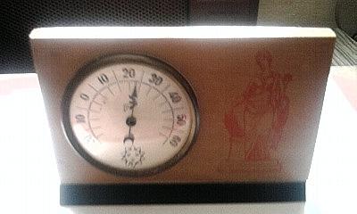 Aneroid hőmérő