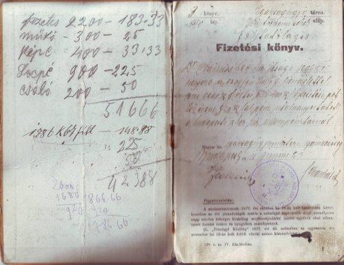 Köztisztviselői fizetési könyv