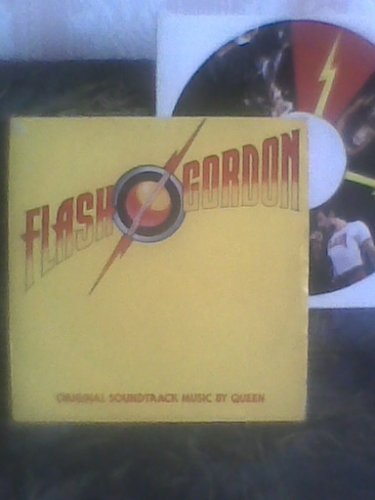 Flash Gordon Bakelit lemez