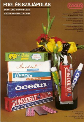 Caola fog- és szájápolási termékek
