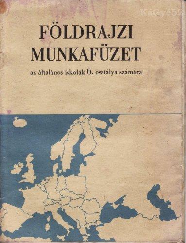 Földrajzi munkafüzet