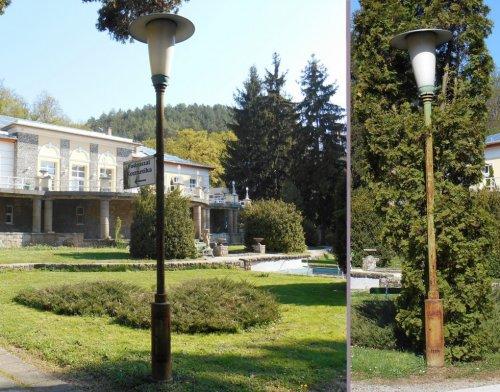 Kalapos utcai lámpa