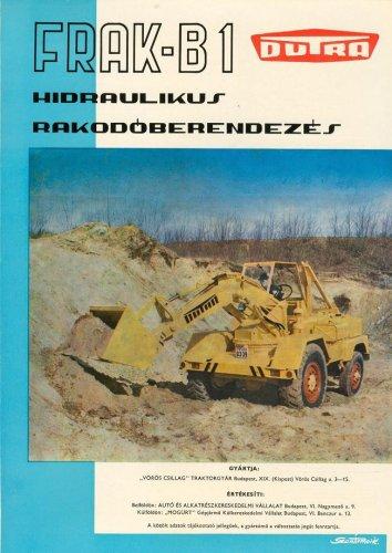 Dutra rakodó - Frak-B1 prospektus