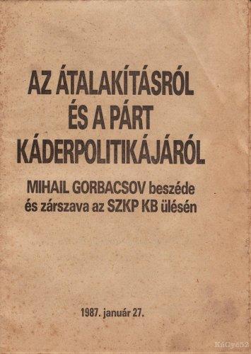 Gorbacsov beszéde