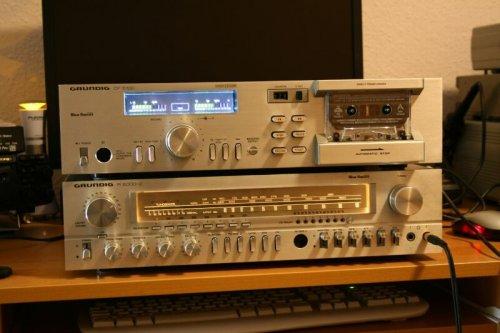 GRUNDIG R 2000-2 Receiver és GRUNDIG CF 5100 deck