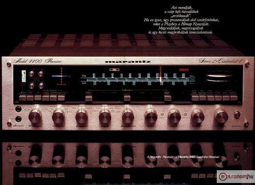 1979-es Hifi Magazin Poszter (Marantz Model 4400)