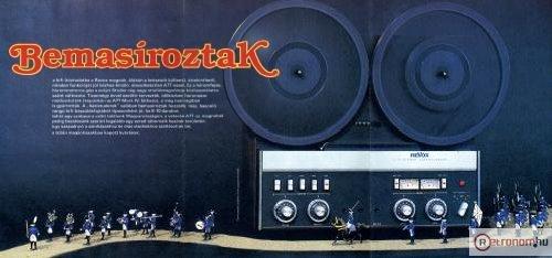 1982/2-es Hifi Magazin Poszter (Revox A77)