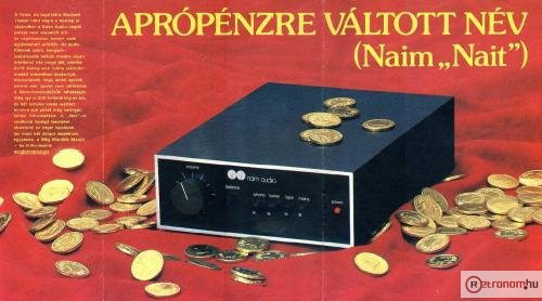 1984/3-as Hifi Magazin Poszter (Naim  Audio)